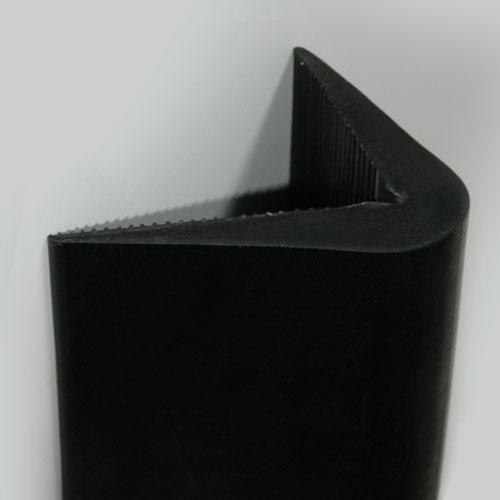Concrete Corner Protectors : Rubber parking corner protector store vision ltd