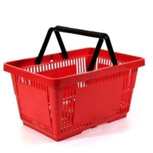 28lt Plastic Hand Basket