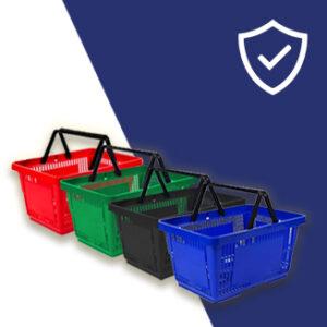 Shopping Trolleys & Baskets