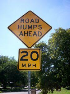 Speed ramp car park