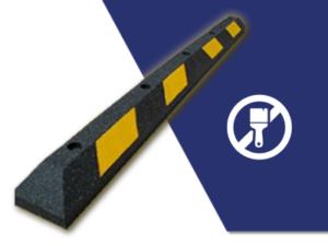 Car park solution high-viz wheel stop