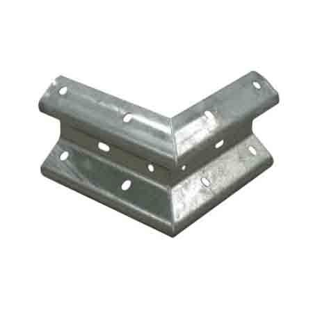 carsh barrier 90 degree steel corner