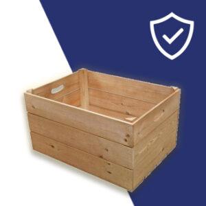 Wooden Display Crates & Barrels