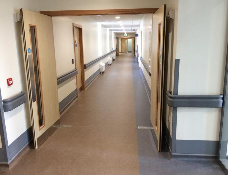 hospital-nursing-home-handrail-indoor-pvc-installtion-ireland-near-me