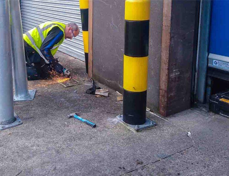 loading-bay-bollard-installtion-contractors-near-me