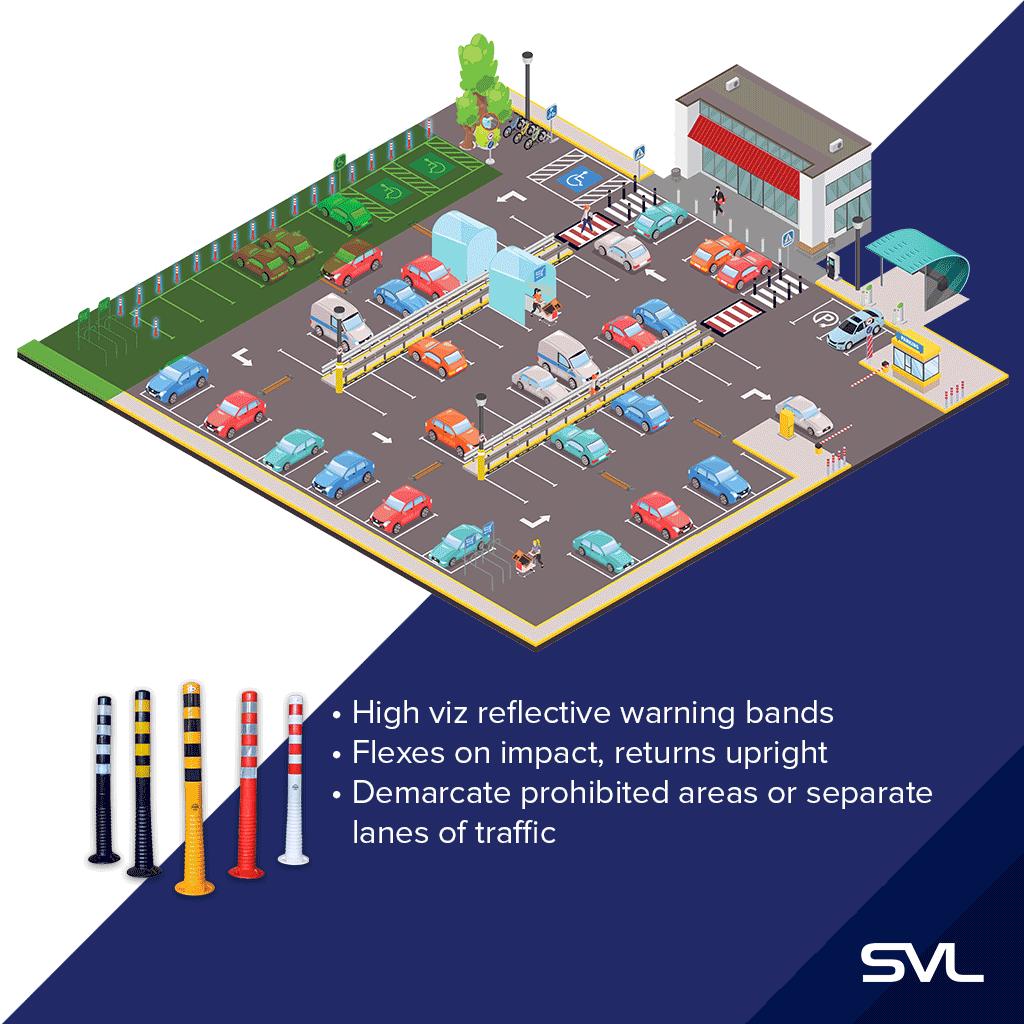 1-flexible-car-park-bollard-traffic-how-to-installation-car-park-safety-solution-tips-ireland-near-me-metres